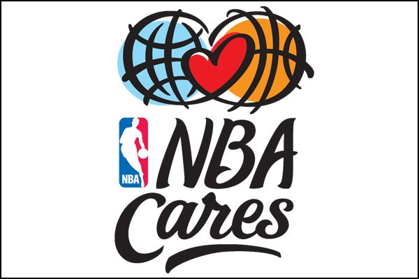 NBA Cares logo wide lame