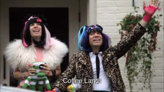 portlandia yellowface coffee land japanese girls funny