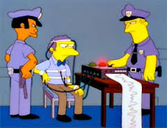 moe simpsons lie detector