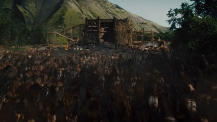 God's biggest miracle: managing the queues at Noah's Ark.