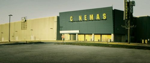 A movie theater that closed rather than show The Canyons.
