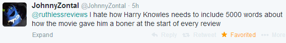 harry knowels bad critic lame stupid tweet