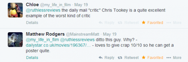 ruthless reviews movie critics