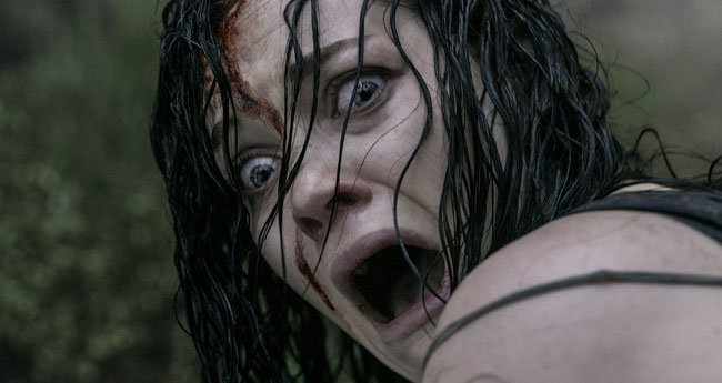 women in horror movies scream