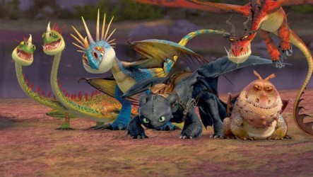 I'm about to spoil this film, so here are some pictures of dragons.