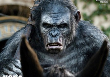 This could be a bad guy from Dawn of the Planet of the Apes. Or it could be a bad guy from the next Hobbit movie. Who can really tell?