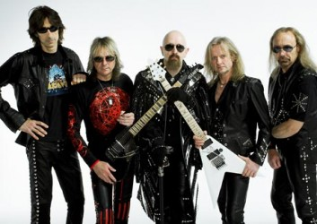 recent photo image judas priest full band old