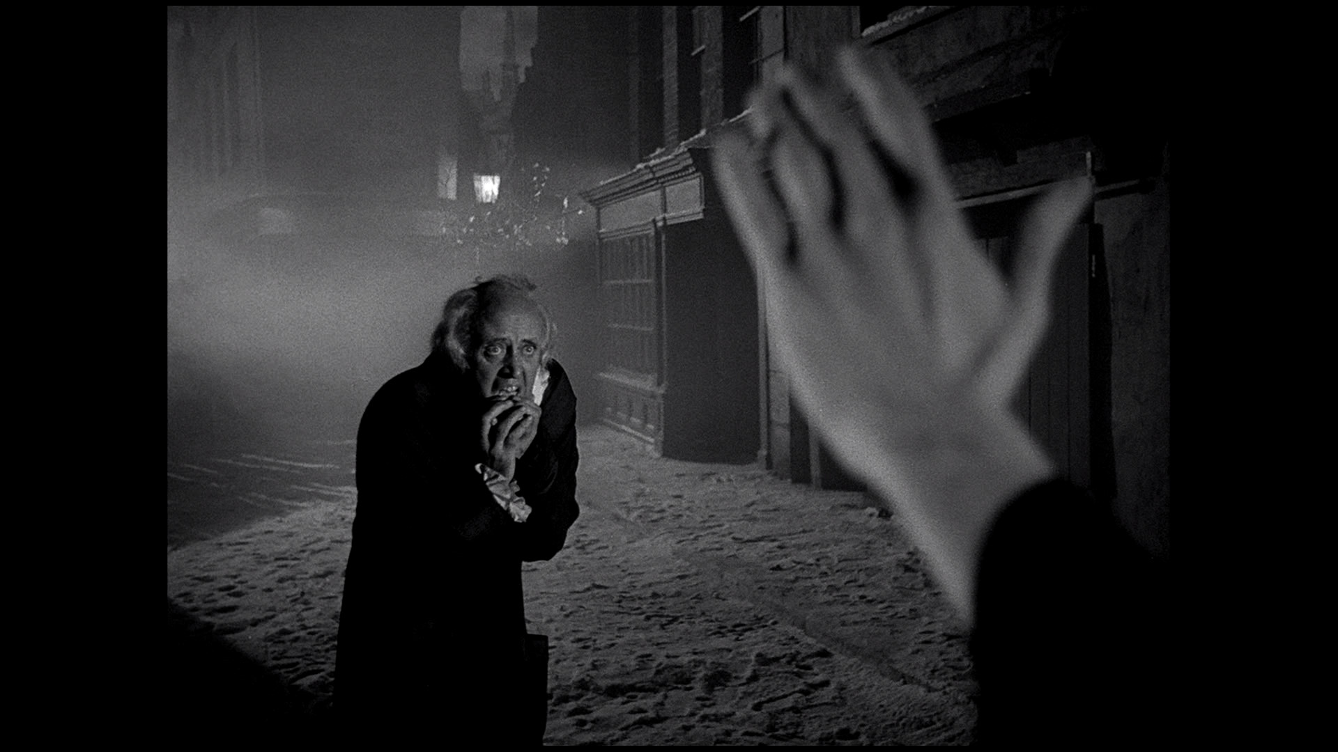 scrooge 1951 with xmas future - Christmas Carol 1951