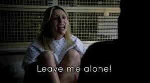 Claire Danes, telling the writers to stop fucking with her character.
