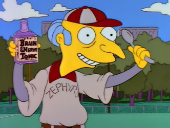 mr burns baseball