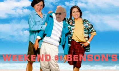 weekend at bensons poster1 tom benson dead