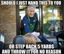pete carroll funny