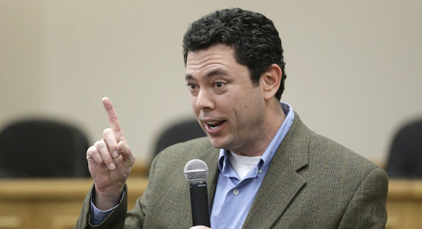 Yes, that's really Jason Chaffetz.