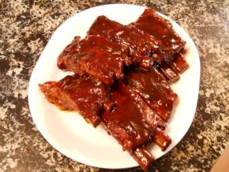 saucy ribs