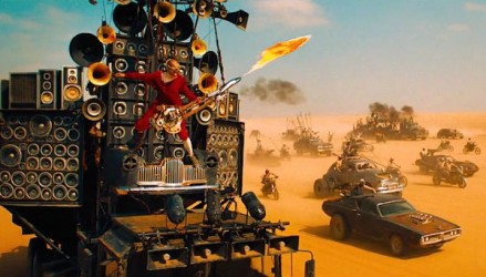 That's right: It's Mad Max vs. The Burning Man Festival, no holds barred.