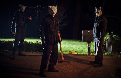 Killer lambs in You're Next (2011)